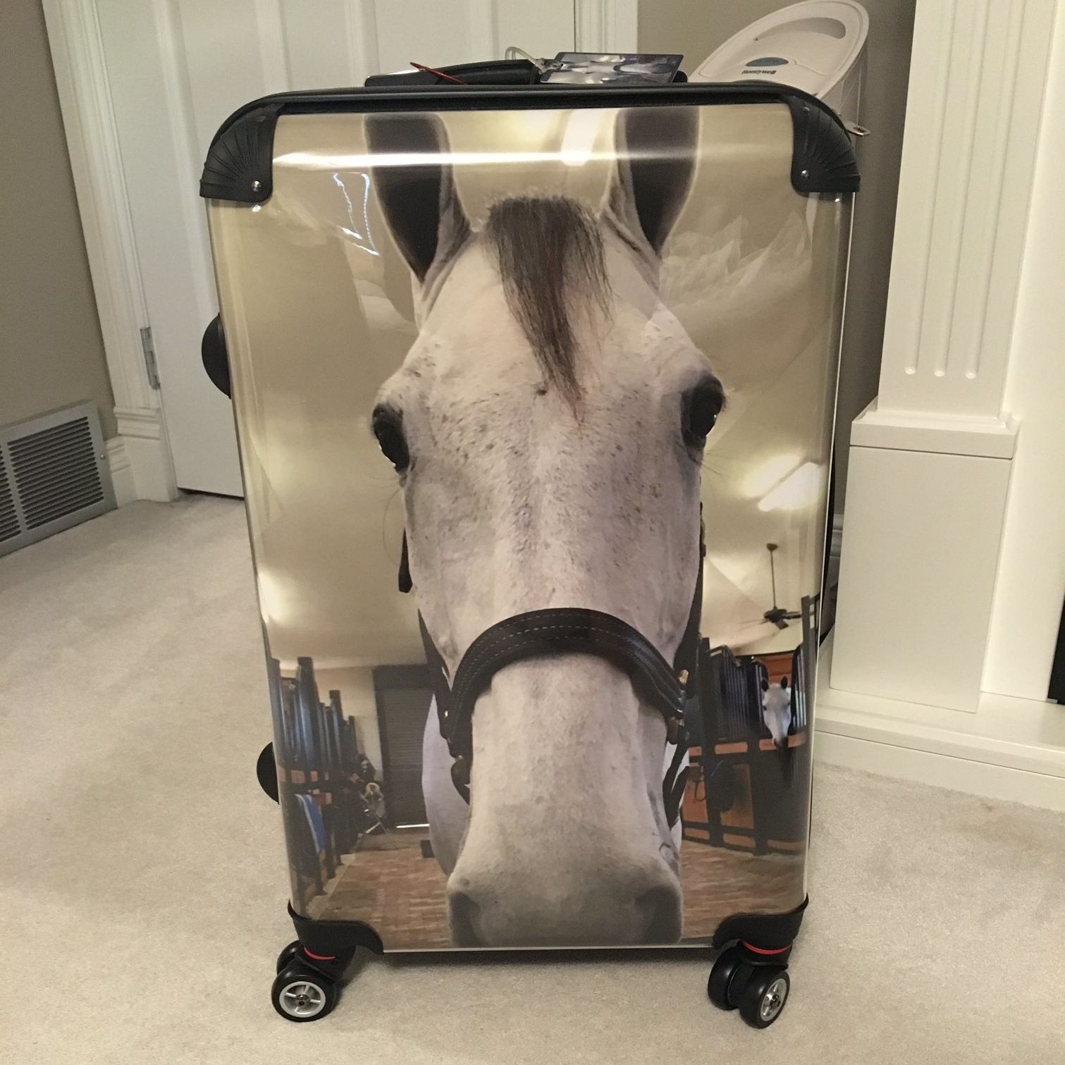 custom luggage  the gift for the horse girl who has everything