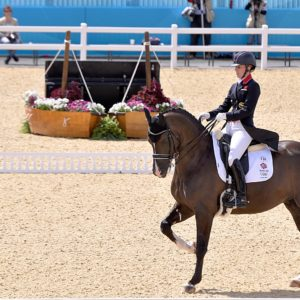 Charlotte Dujardin at the 2012 Olympics. ©Wikipedia Commons CC by SA 3.0.