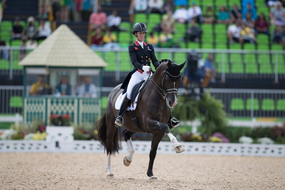 Dujardin Charlotte and Valegro at the Olympic Games in Rio 2016. ©Hippo Foto - Dirk Caremans/FEI