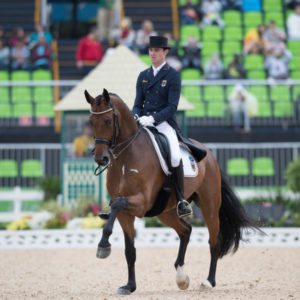 Sonke Rothenberger (GER) and Cosmo make their Olympic debut in Rio. ©Hippo Foto - Dirk Caremans