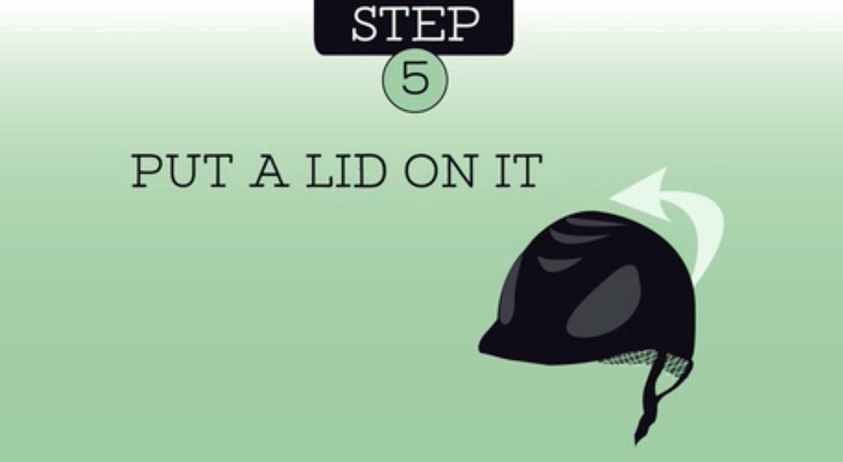 Don't Let Embarrassing Helmet Flyaways Happen to You