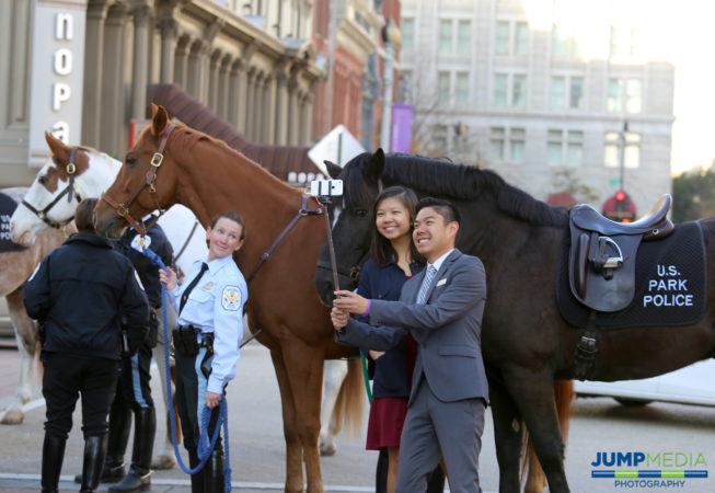 Selfie with the Mounted Police! (©Jump Media Photography)