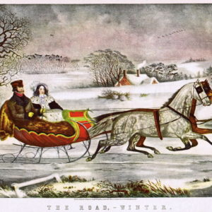the-road_winter_currier-and-ives