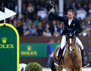 Eric Lamaze (CAN) and Fine Lady 5 capture the 16th Rolex IJRC Top 10 Final  ©Rolex/Kit Houghton