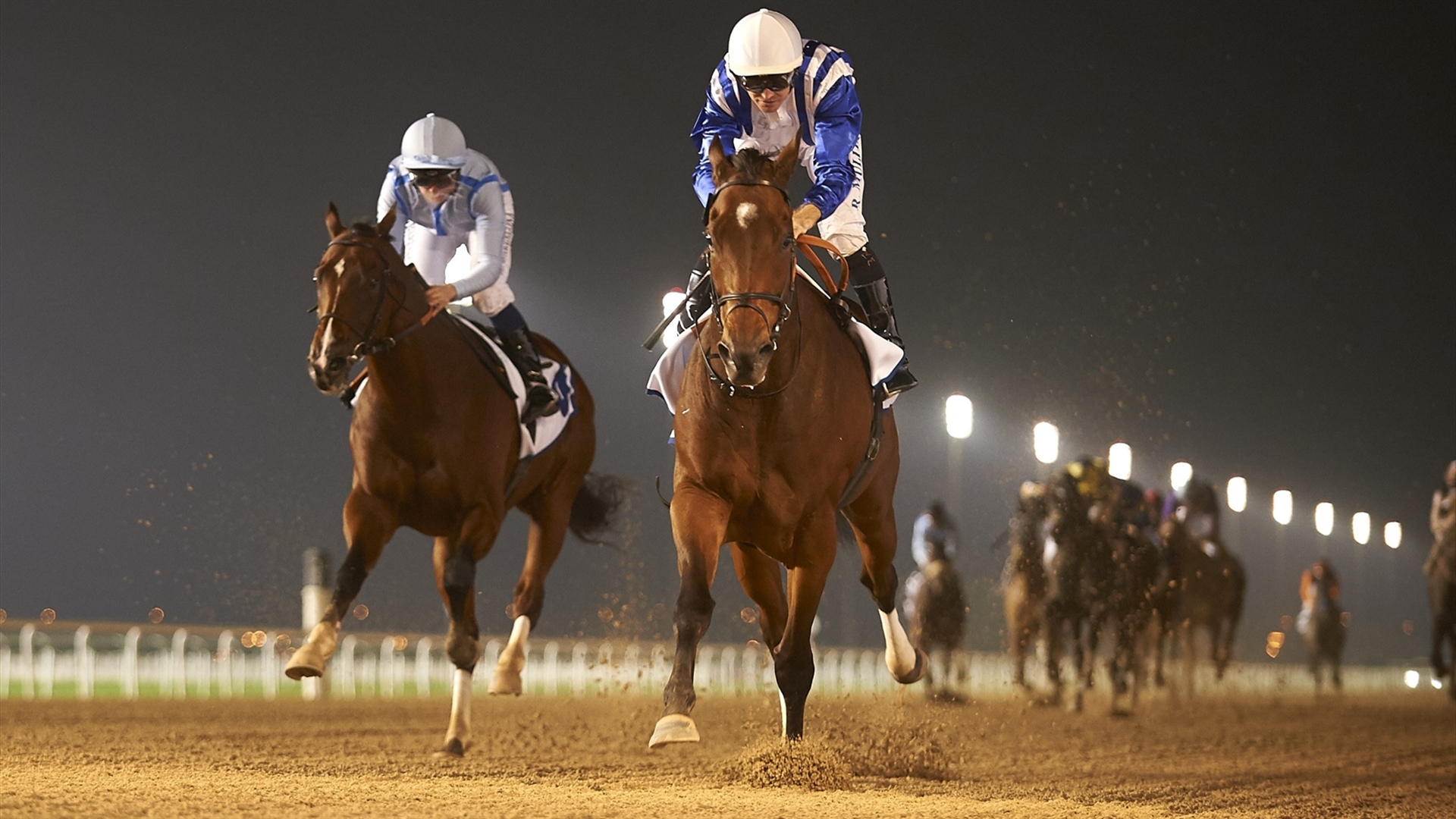 North America and Richard Mullen. ©Andrew Watkins/Dubai Racing Club