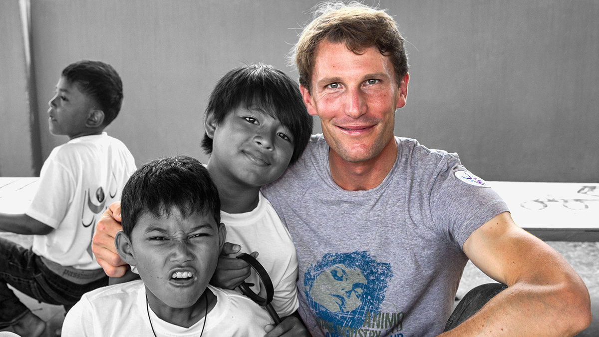 "Kevin Staut: ""Cambodia Changed My Life"""