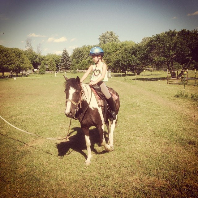 Pony Camp Lunge Lesson FREE