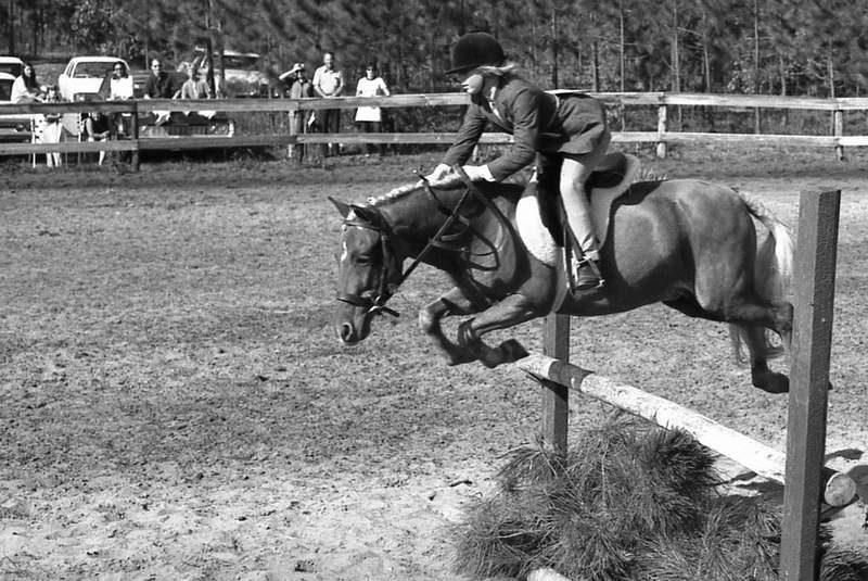 Vintage Jumping Photo FREE
