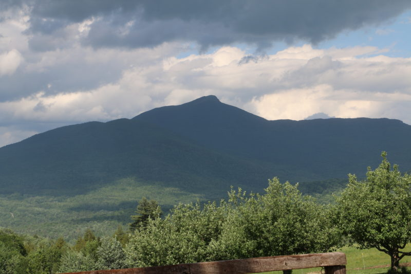 Camels Hump and that big, Vermont sky. (©Horse Network)