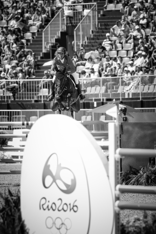 Steve GUERDAT (SUI) and Nino Des Buissonnets finished just off the podium in fourth. ©FEI/Eric KNOLL
