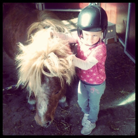 Kid and Pony