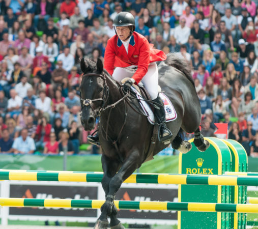 Beezie Madden and Cortes 'C' competing in the 2014 World Equestrian Games.(flickr.com/Franz Venhaus)