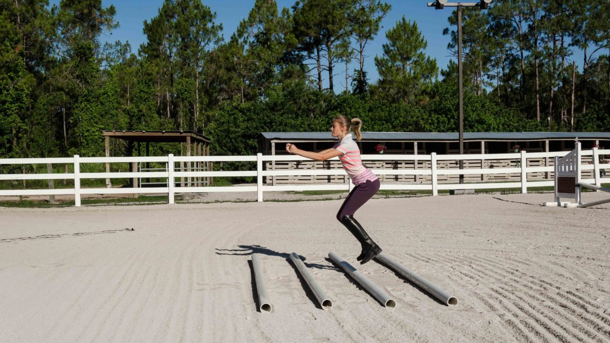 Riding Fit: Trot Pole Squats