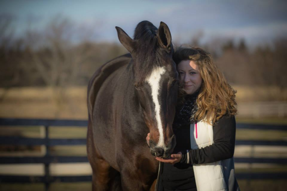 """What Happens at Retirement? Giving One Show Horse a """"Storybook"""" Ending"""